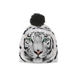 Czapka hauer TIGER WHITE. Szare czapki i kapelusze damskie Hauer, z polaru. Za 69.00 zł.