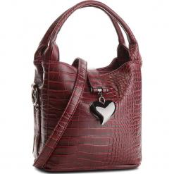 Torebka JENNY FAIRY - RC11808A Burgundy. Czerwone torebki do ręki damskie Jenny Fairy, ze skóry ekologicznej. Za 89.99 zł.