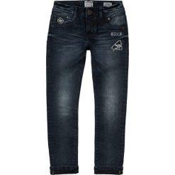 """Dżinsy """"Anderson"""" - Skinny fit - w kolorze granatowym. Jeansy dla chłopców marki Reserved. W wyprzedaży za 99.95 zł."""