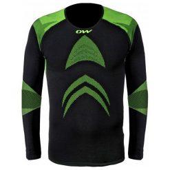 One Way Koszulka Sportowa Master Pro L/S Shirt Black S-M. Czarne koszulki sportowe męskie One Way, ze skóry, z długim rękawem. Za 299.00 zł.