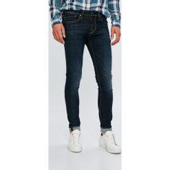 Pepe Jeans - Jeansy Finsbury. Niebieskie jeansy męskie Pepe Jeans. W wyprzedaży za 319.90 zł.