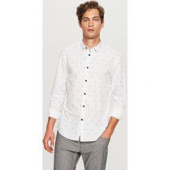 Koszula z mikroprintem regular fit - Biały. Koszule męskie marki Giacomo Conti. Za 89.99 zł.