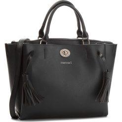 Torebka MONNARI - BAGB170-020 Black. Czarne torebki do ręki damskie Monnari, ze skóry ekologicznej. W wyprzedaży za 209.00 zł.