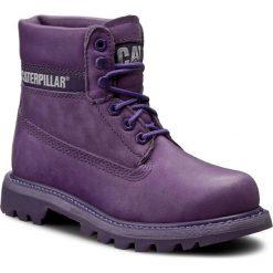 Trapery CATERPILLAR - Colorado P308860 Purple. Fioletowe śniegowce i trapery damskie Caterpillar, z materiału. W wyprzedaży za 339.00 zł.
