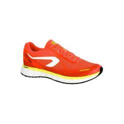 Buty do biegania KIPRUN FAST damskie. Czerwone obuwie sportowe damskie KALENJI, z gumy. Za 249.99 zł.