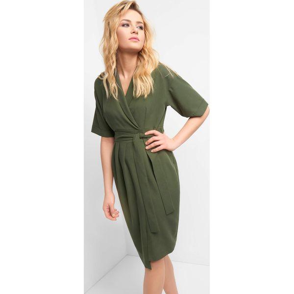 b7f60403b0 Kopertowa sukienka z wiązaniem - Sukienki damskie marki Orsay. Za ...