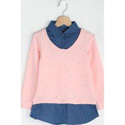 Różowa Bluzka Puzzler. Czerwone bluzki dla dziewczynek Born2be. Za 59.99 zł.