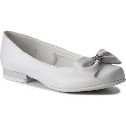 Baleriny MAGIC LADY - CS090501-1 Biały. Baleriny dziewczęce Magic Lady, ze skóry ekologicznej. Za 59.99 zł.
