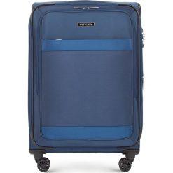 Walizka średnia 56-3S-582-90. Czarne walizki damskie Wittchen. Za 379.00 zł.