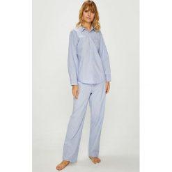 Lauren Ralph Lauren - Piżama. Szare piżamy damskie Lauren Ralph Lauren, z bawełny. W wyprzedaży za 379.90 zł.