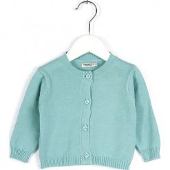 Kardigan w kolorze błękitnym. Swetry dla dziewczynek marki bonprix. W wyprzedaży za 82.95 zł.