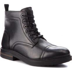 Kozaki PEPE JEANS - Hubert Boot PMS50159 Black 999. Czarne kozaki męskie Pepe Jeans, z jeansu, klasyczne. W wyprzedaży za 379.00 zł.