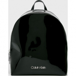 Calvin Klein - Plecak. Czarne plecaki damskie Calvin Klein, z materiału. Za 549.90 zł.