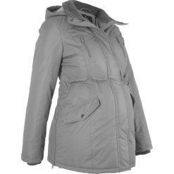 Kurtka ciążowa zimowa bonprix dymny szary. Szare kurtki damskie bonprix, na zimę, z polaru. Za 269.99 zł.