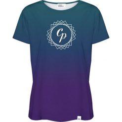 Colour Pleasure Koszulka damska CP-030 291 fioletowo-niebieska r. XXXL/XXXXL. T-shirty damskie Colour Pleasure. Za 70.35 zł.
