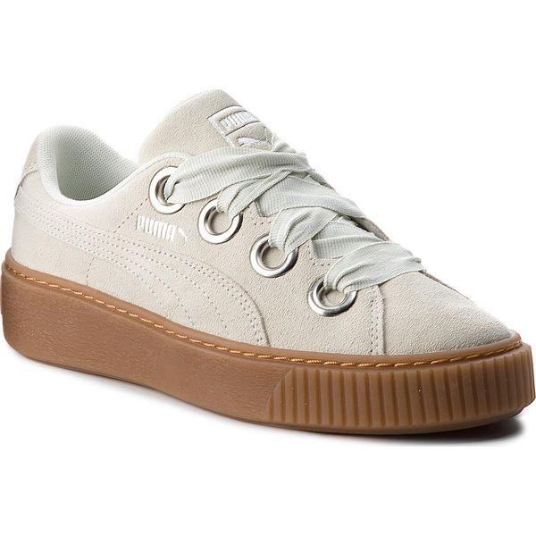 a191bee0 Sneakersy PUMA - Platform Kiss Suede 366461 02 Blue Flower/Puma ...