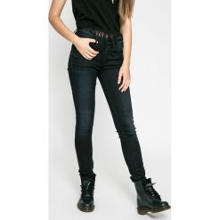 G-Star Raw - Jeansy 3301 High Skinny. Niebieskie jeansy damskie G-Star Raw. W wyprzedaży za 299.90 zł.