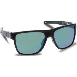 Okulary przeciwsłoneczne OAKLEY - Crossrange Xl OO9360-0258 Polished Black/Jade Iridium. Czarne okulary przeciwsłoneczne męskie Oakley, z tworzywa sztucznego. W wyprzedaży za 549.00 zł.