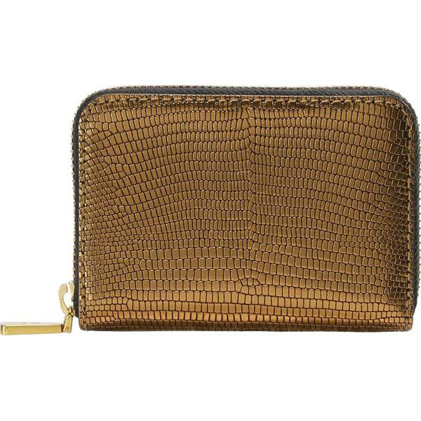2b3de9677557f Polo Ralph Lauren EMBOSSED ZIP Portfel gold - Portfele damskie marki ...