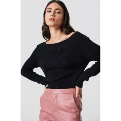 Rut&Circle Sweter Quini - Black. Czarne swetry damskie Rut&Circle, z dzianiny. Za 121.95 zł.