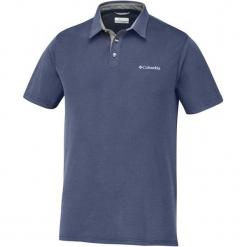 Columbia Koszulka Męska Polo Nelson Point Polo Collegiate Navy, L. Niebieskie koszulki polo męskie Columbia. W wyprzedaży za 155.00 zł.
