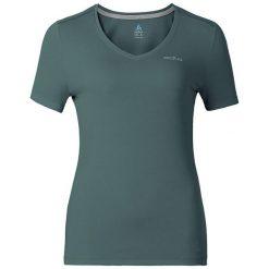 Odlo Koszulka s/s v-neck LIV ciemno-zielony r. S. T-shirty damskie Odlo. Za 52.36 zł.