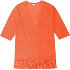 Kardigan kaszmirowy w kolorze pomarańczowym. Brązowe kardigany damskie Ateliers de la Maille, z kaszmiru. W wyprzedaży za 591.95 zł.