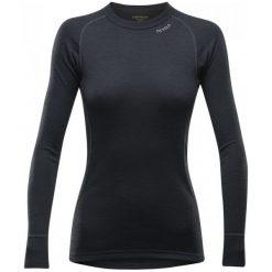 Devold Koszulka Damska Duo Active Woman Shirt Black Xs. Czarne koszulki sportowe damskie Devold, ze skóry, z długim rękawem. W wyprzedaży za 209.00 zł.