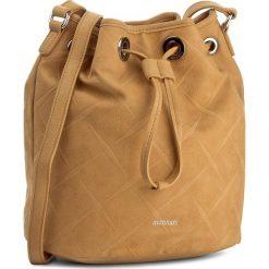 Torebka MONNARI - BAG1580-003 Orange. Brązowe torebki do ręki damskie Monnari, w geometryczne wzory, ze skóry ekologicznej. W wyprzedaży za 119.00 zł.