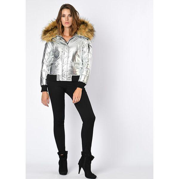 2c37b5e98f06d Kurtka w kolorze srebrnym - Szare kurtki damskie marki Northwood, na ...