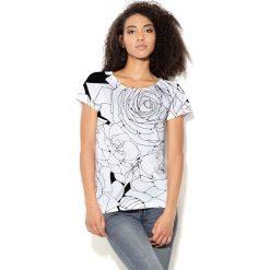 Colour Pleasure Koszulka CP-034  1 biało-czarna r. M/L. Bluzki damskie Colour Pleasure. Za 70.35 zł.