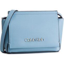 Torebka CALVIN KLEIN - Stitch Flap Crossbody K60K604828 460. Niebieskie listonoszki damskie Calvin Klein, ze skóry ekologicznej. Za 349.00 zł.