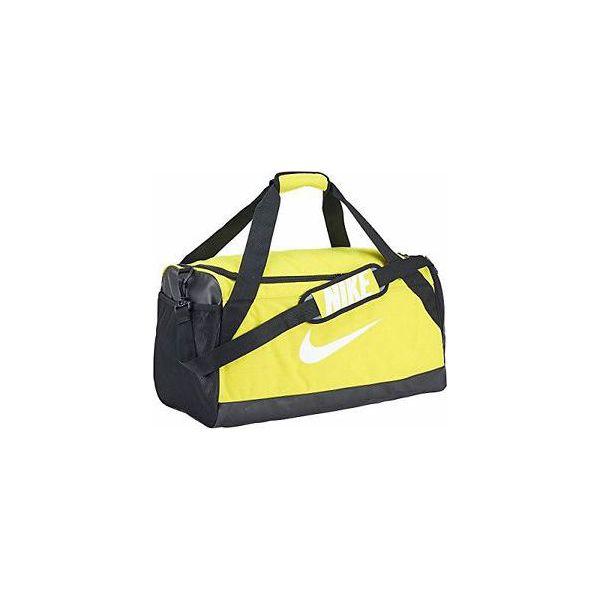 396793c9fd9aa Nike Torba sportowa Brasilia M żółta (BA5334-358) - Torby podróżne ...