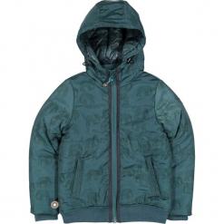 """Kurtka zimowa """"The Last Resort"""" w kolorze niebieskim. Niebieskie kurtki i płaszcze dla chłopców marki 4FunkyFlavours Kids, na zimę, prążkowane. W wyprzedaży za 239.95 zł."""