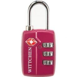 Kłódka szyfrowa 56-30-022-33. Czerwone walizki damskie Wittchen. Za 29.00 zł.