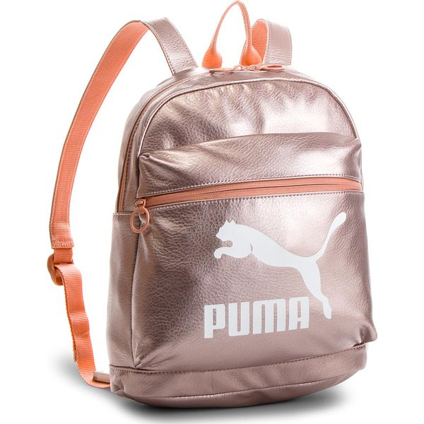 1768e6fd71bf3 Plecak PUMA - Prime Backpack Metallic 075164 Peach Beige-Metallic 01 ...