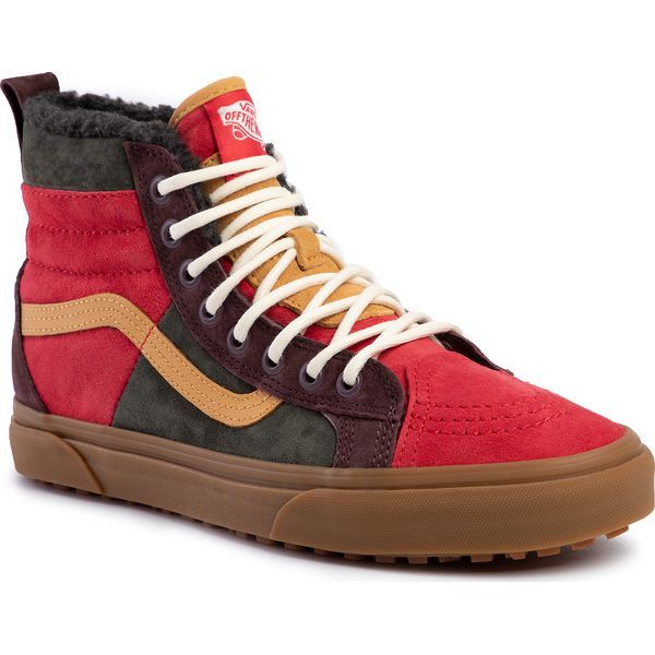 Sneakersy VANS Sk8 Hi 46 Mte Dx VN0A3DQ5TUA1 (Mte) Poinsettiaforestnght