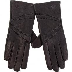 Rękawiczki Damskie WITTCHEN - 44-6-512-1 Czarny. Czarne rękawiczki damskie Wittchen, ze skóry. W wyprzedaży za 139.00 zł.