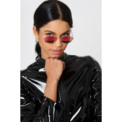 NA-KD Accessories Owalne okulary przeciwsłoneczne - Pink. Różowe okulary przeciwsłoneczne damskie NA-KD Accessories. Za 80.95 zł.
