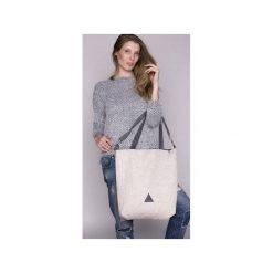 TORBA DAMSKA na ramię kość słoniowa. Białe torby na ramię damskie Drops. Za 139.00 zł.