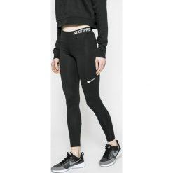 Nike - Legginsy. Szare legginsy sportowe damskie Nike, z dzianiny. W wyprzedaży za 139.90 zł.