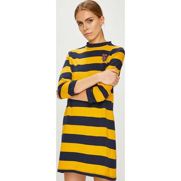 4caafda01d48 Tommy Jeans - Sukienka - Pomarańczowe sukienki damskie marki Tommy ...