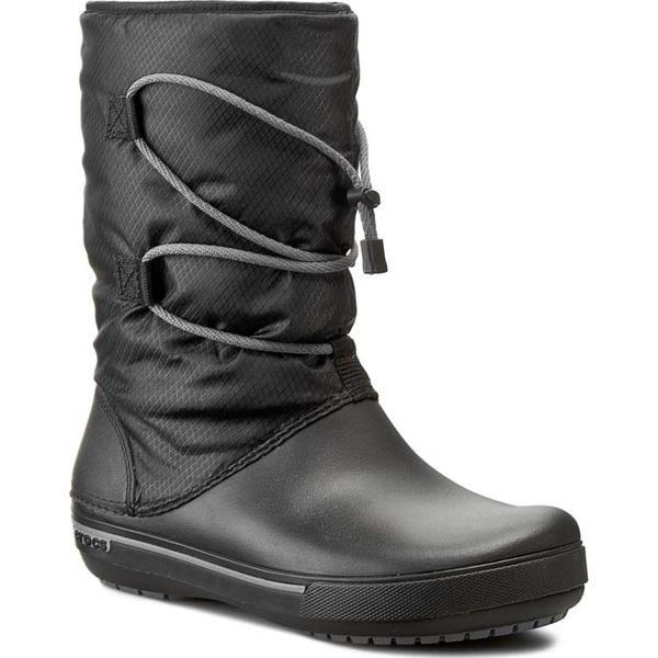 ogromny wybór kody kuponów Hurt Śniegowce CROCS - Crocband II.5 Cinch Boot W 201383 Black/Charcoal