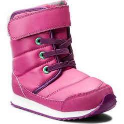Śniegowce Reebok - Snow Prime BS7779 Pink/Aubergine/Emerald. Buty zimowe dziewczęce marki bonprix. W wyprzedaży za 159.00 zł.