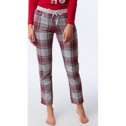 Etam - Spodnie piżamowe 650147502. Szare piżamy damskie Etam, z bawełny. Za 119.90 zł.