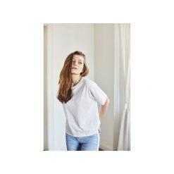 AIMEE BIAŁY t-shirt. Białe t-shirty damskie Gau great as you, z bawełny. Za 139.00 zł.