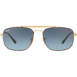 Ray-Ban - Okulary. Brązowe okulary przeciwsłoneczne męskie Ray-Ban, z materiału. Za 599.90 zł.