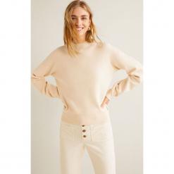 Mango - Sweter Clean3. Szare swetry damskie Mango, z dzianiny. Za 119.90 zł.