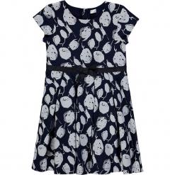 Sukienka w kolorze granatowo-szarym. Niebieskie sukienki dla dziewczynek Königsmühle. W wyprzedaży za 115.95 zł.