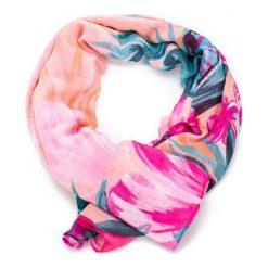 Desigual Chusta Damska Wielokolorowy Malibu Rectangle. Różowe szaliki i chusty damskie Desigual. W wyprzedaży za 119.00 zł.